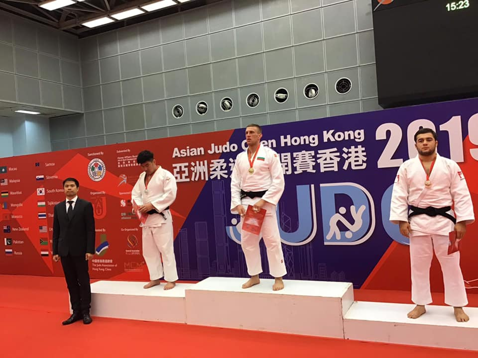Даниел Дичев завоюва златен медал в Хонконг