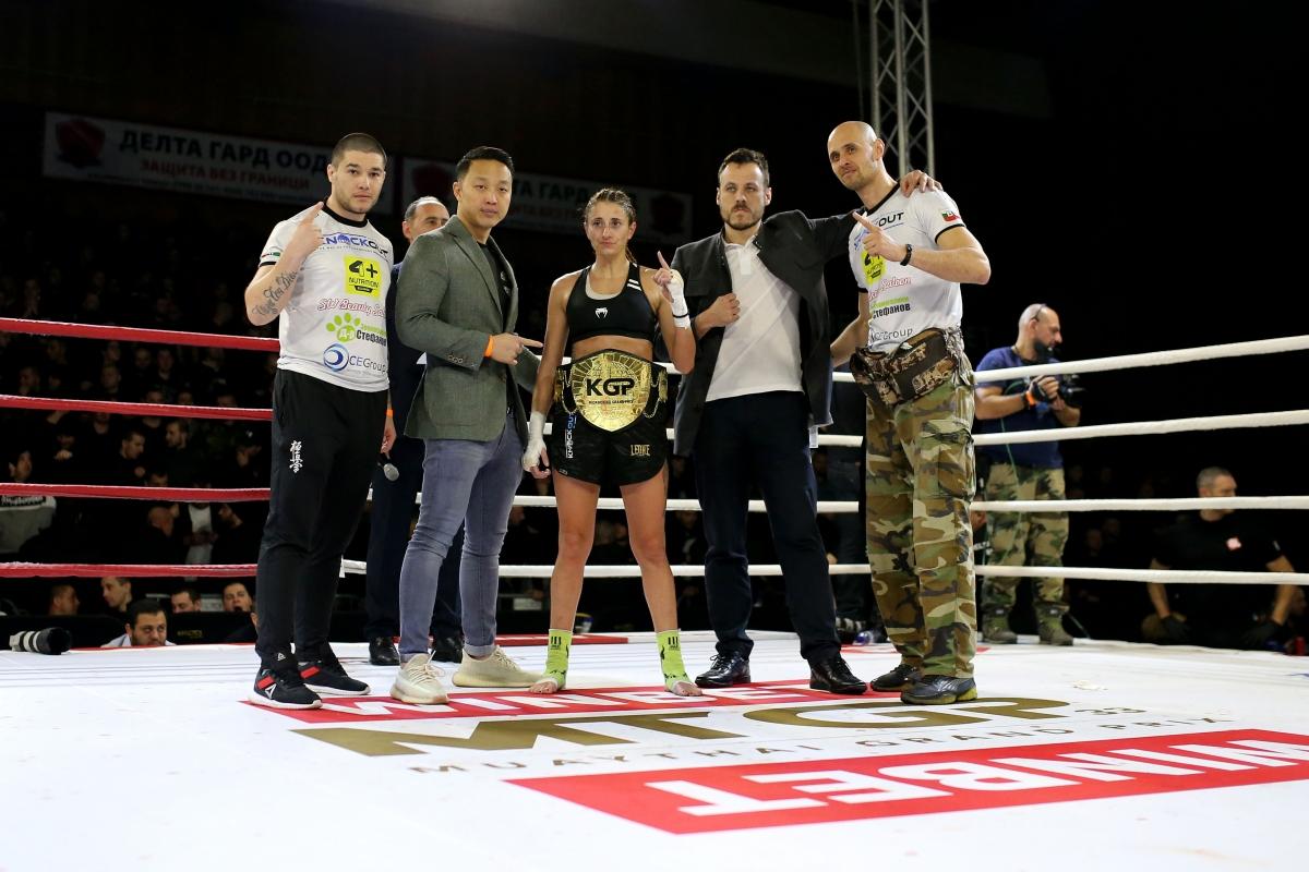 Теодора Кирилова с предложение за бой  срещу турската звезда Фунда Алкайс