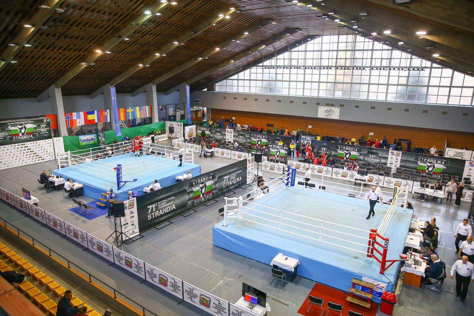 Двама българи в първия ден на европейското по бокс в София