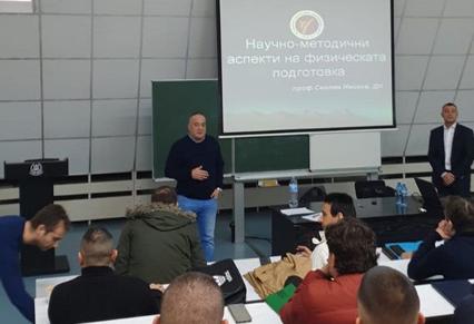 Слави Бинев води курсове за инструктори в НСА (ВИДЕО)