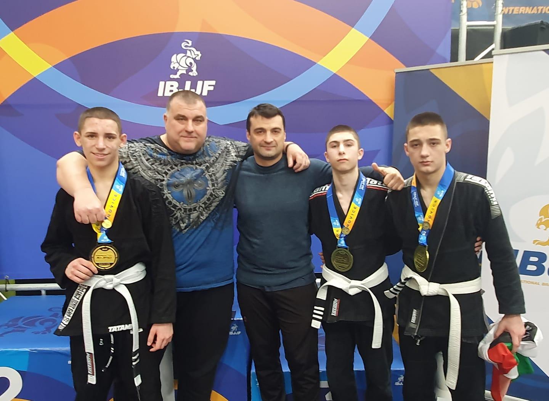 Български успехи в края на европейското по бразилско джу джицу