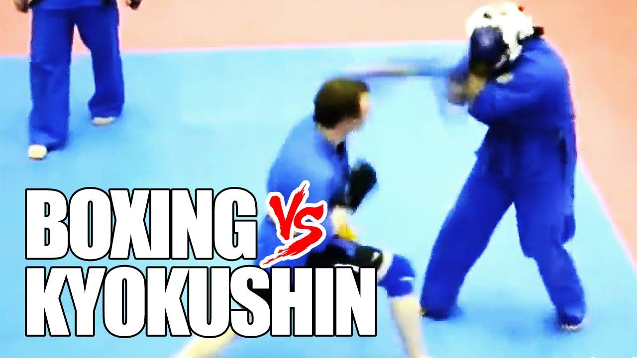 Битка на стилове: Киокушин срещу бокс (ВИДЕО)
