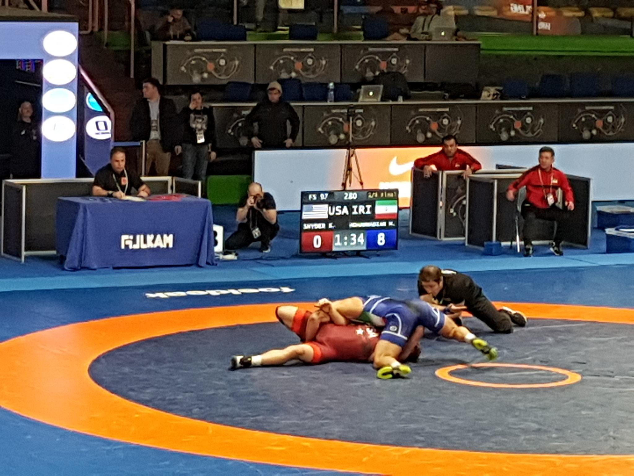 Иранец посрами Кайл Снайдер на ранкинг турнир
