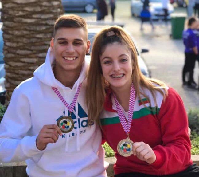 Медал за България от Европейското по олимпийско карате