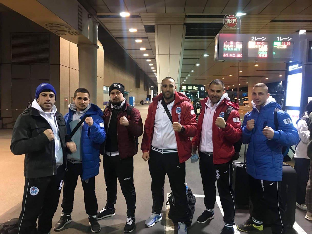 Българският отбор по киокушин пристигна в Япония