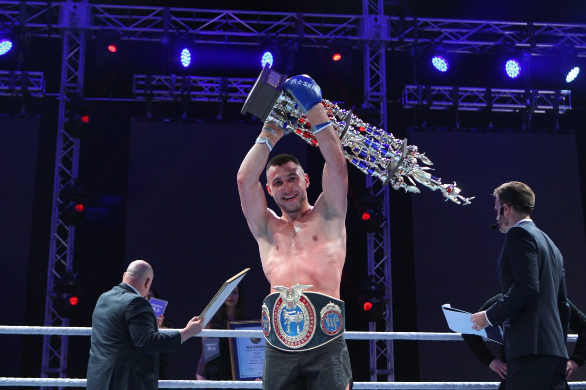 Богдан Шумаров си заслужи още една европейска титла на WAKO PRO