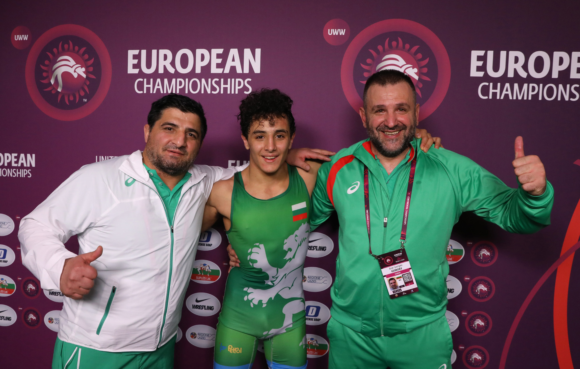 Едмонд Назарян е европейски шампион!