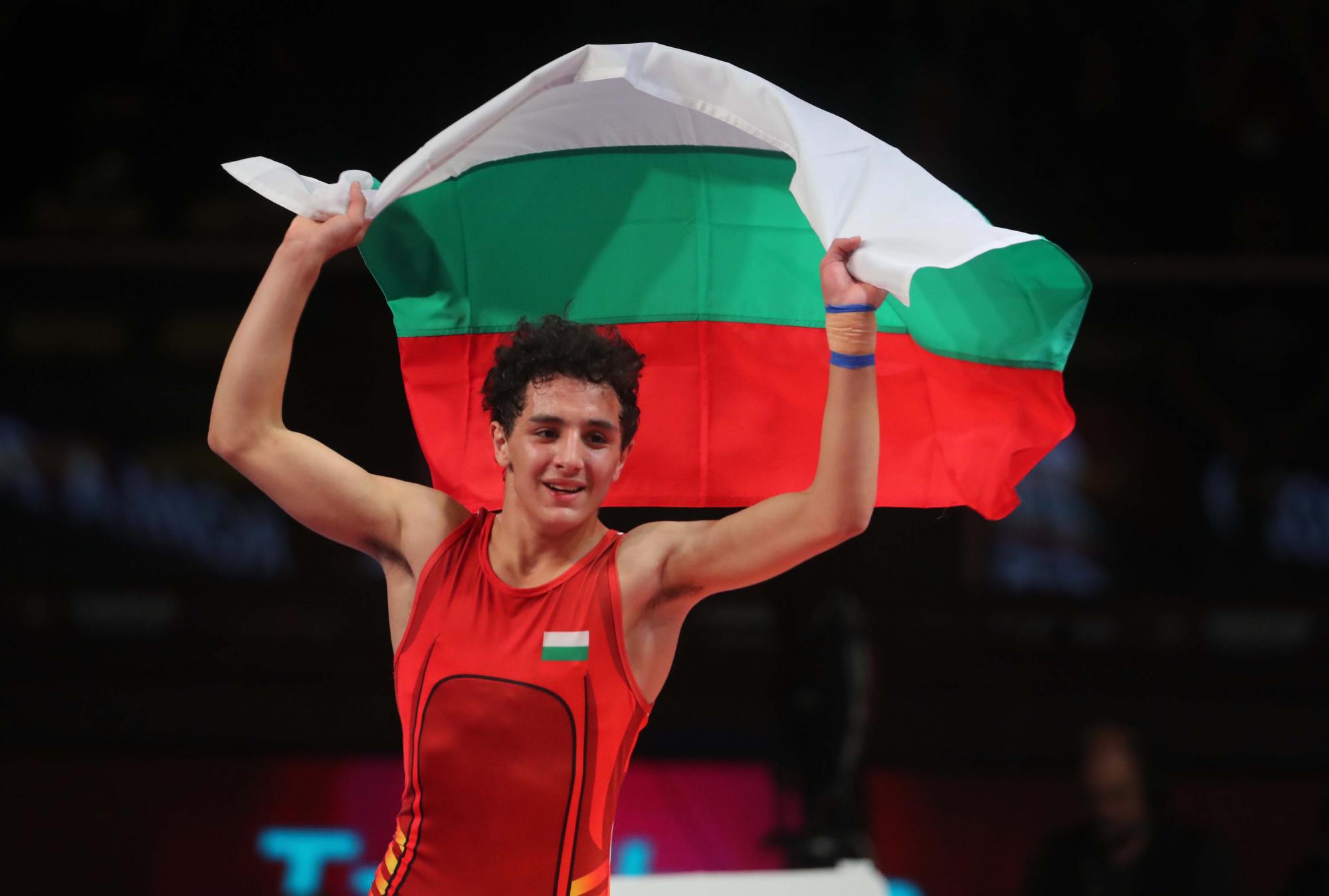 Едмонд Назарян беше избран за спортист номер 1 на Бургас