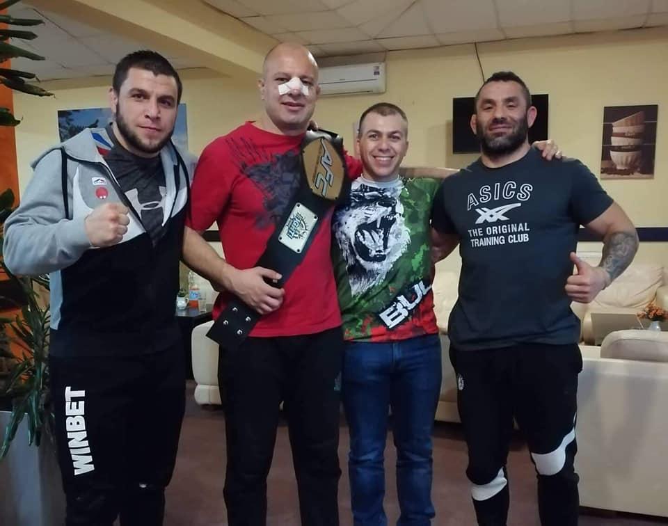 Българска победа на ММА гала в Сърбия