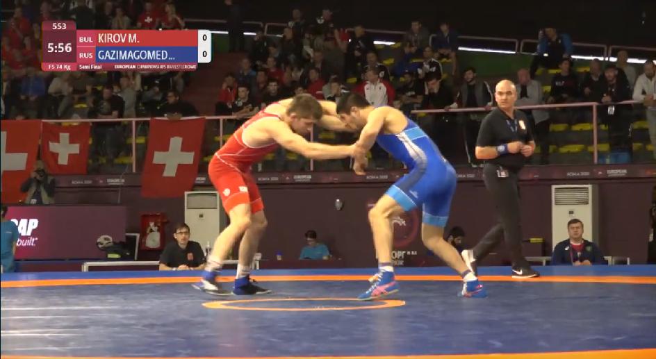 Киров отстъпи на полуфинал в Рим
