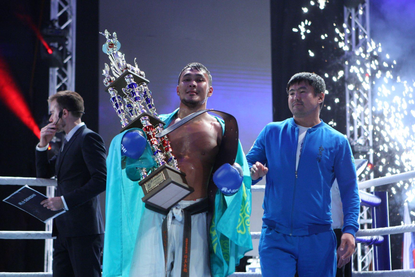 Двукратен абсолютен карате шампион на Украйна с дебют на SENSHI