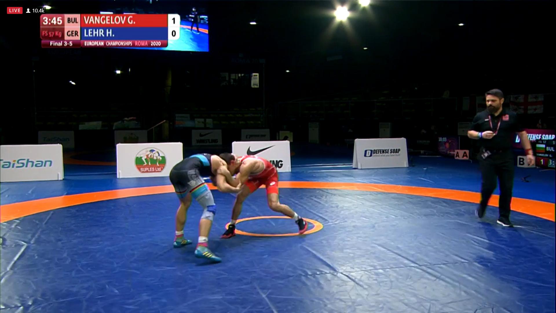 Вангелов остана на крачка от медал