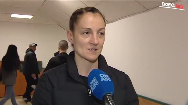 Борислава Горанова отново на ринга този уикенд