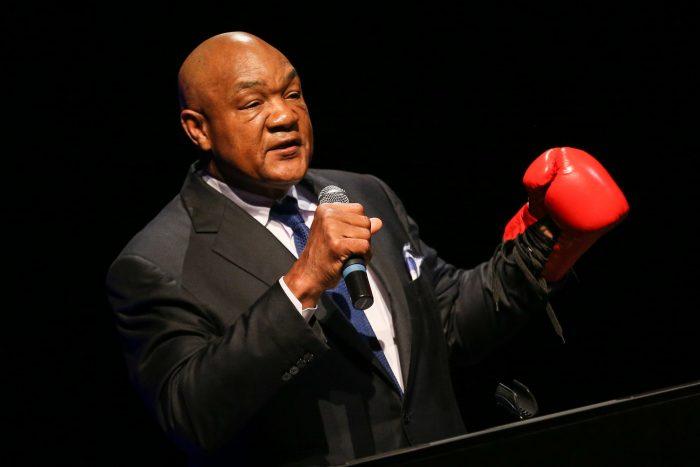 Джордж Форман построи перфектния боксьор