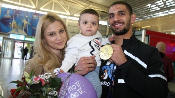 Джудистът Ивайло Иванов стана баща за втори път