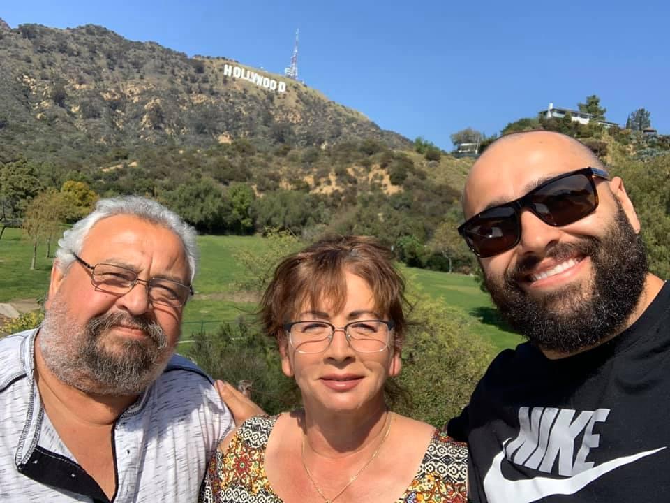 Русев обикаля Холивуд с неговите близки (СНИМКИ)