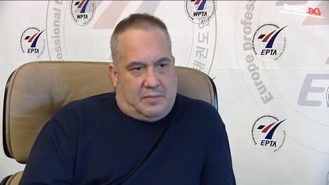 Слави Бинев подписа меморандум със световното профи таекуондо (ВИДЕО)