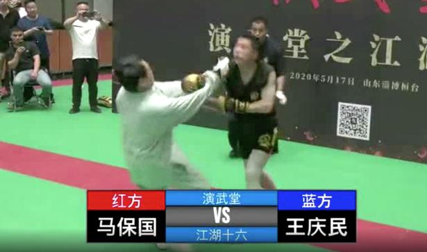 ММА аматьор нокаутира кунг фу майстор за 30 секунди (ВИДЕО)