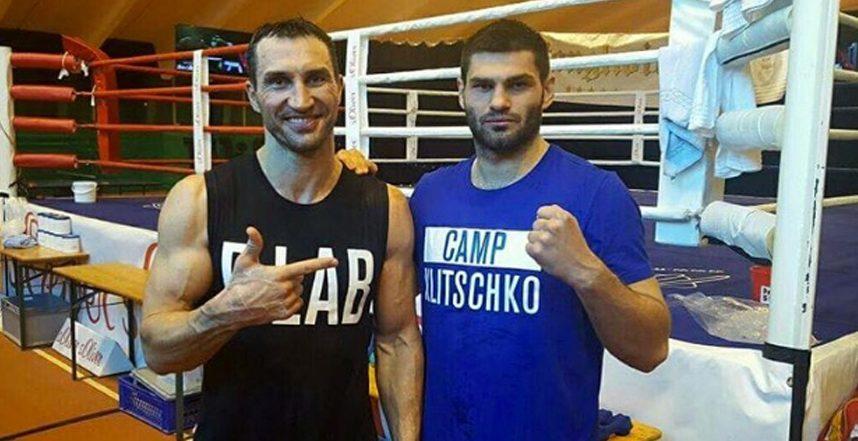 """Владимир Кличко ще подготвя """"бъдещия шампион"""" Хъргович"""