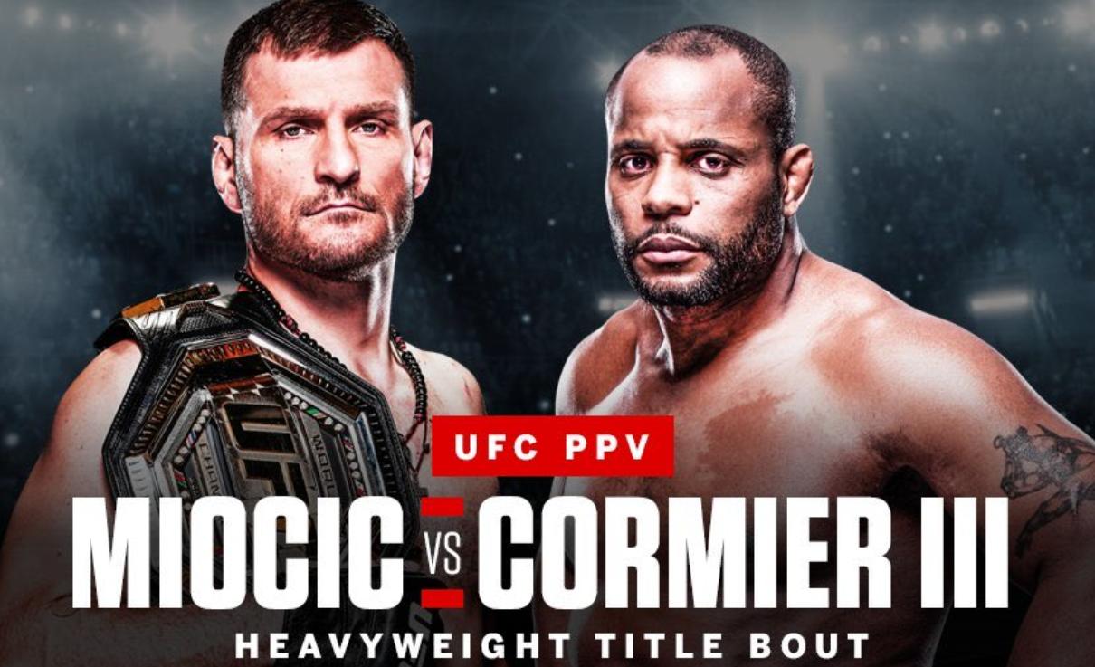 UFC с надъхващо видео преди Миочич – Кормие