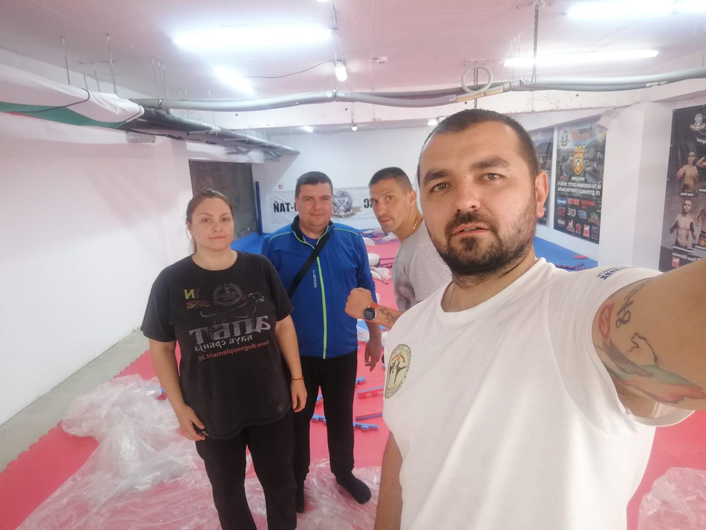 """Кикбоксьорите от """"Патриот"""" с нова зала в Дупница"""