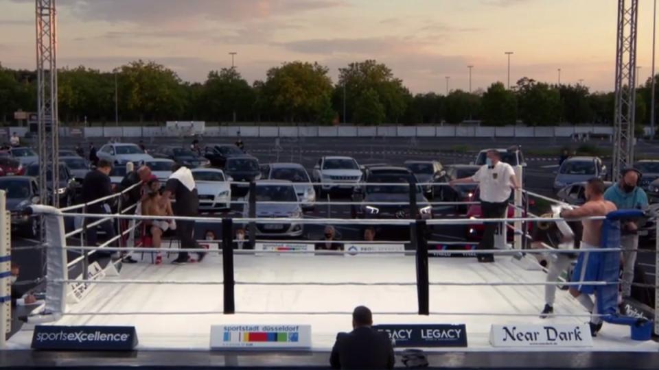 В Германия правят бокс като автокино (ВИДЕО)