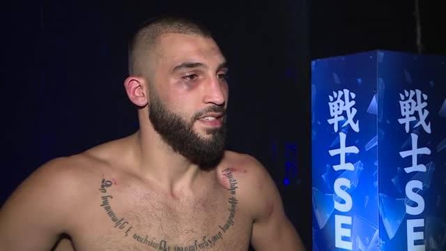 Едуард Алексанян след SENSHI 6: Не беше моята вечер (VIDEO)