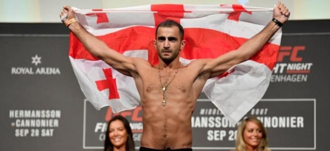 Непобеден в UFC грузинец влиза в октагона отново