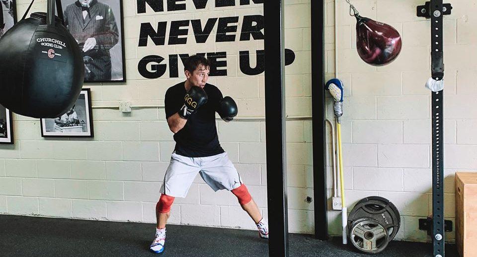 Головкин тренира в къщата на Шейн Мозли (ВИДЕО)