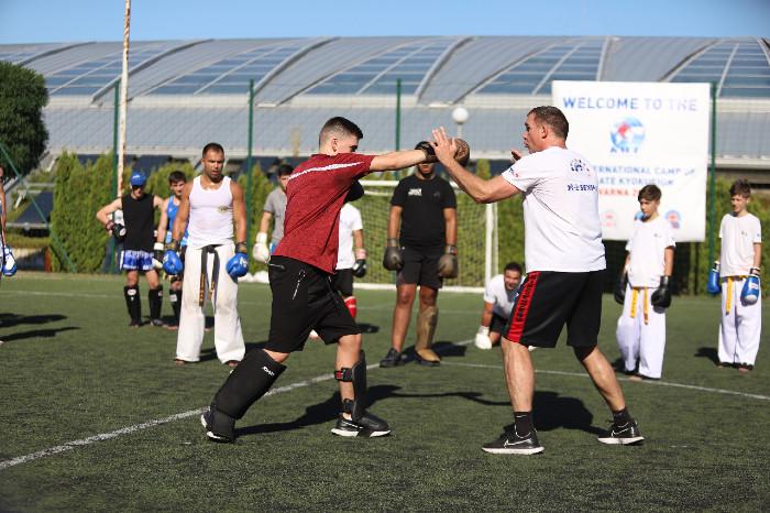 Лагерът на KWU International Professional League продължава с пълна сила(СНИМКИ)