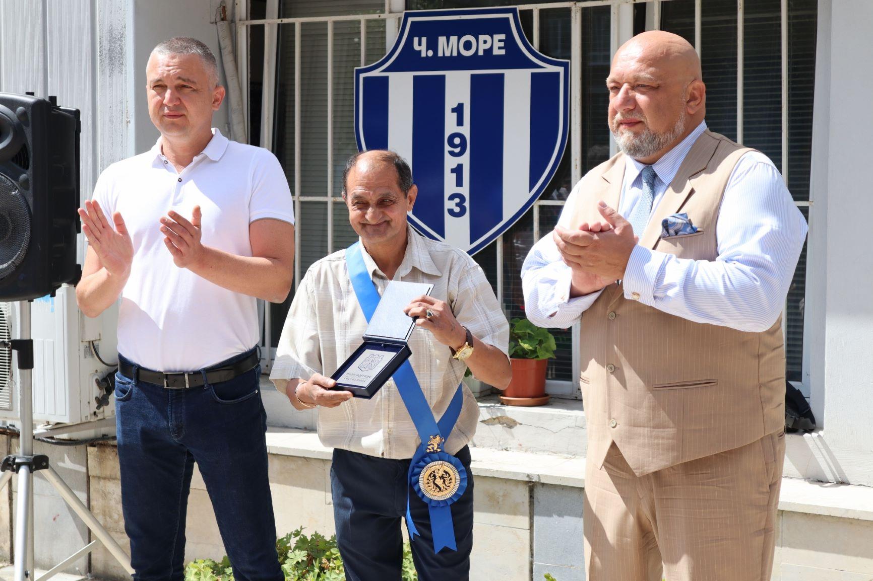 Ивайло Маринов получи най-високото държавно спортно отличие (СНИМКИ)