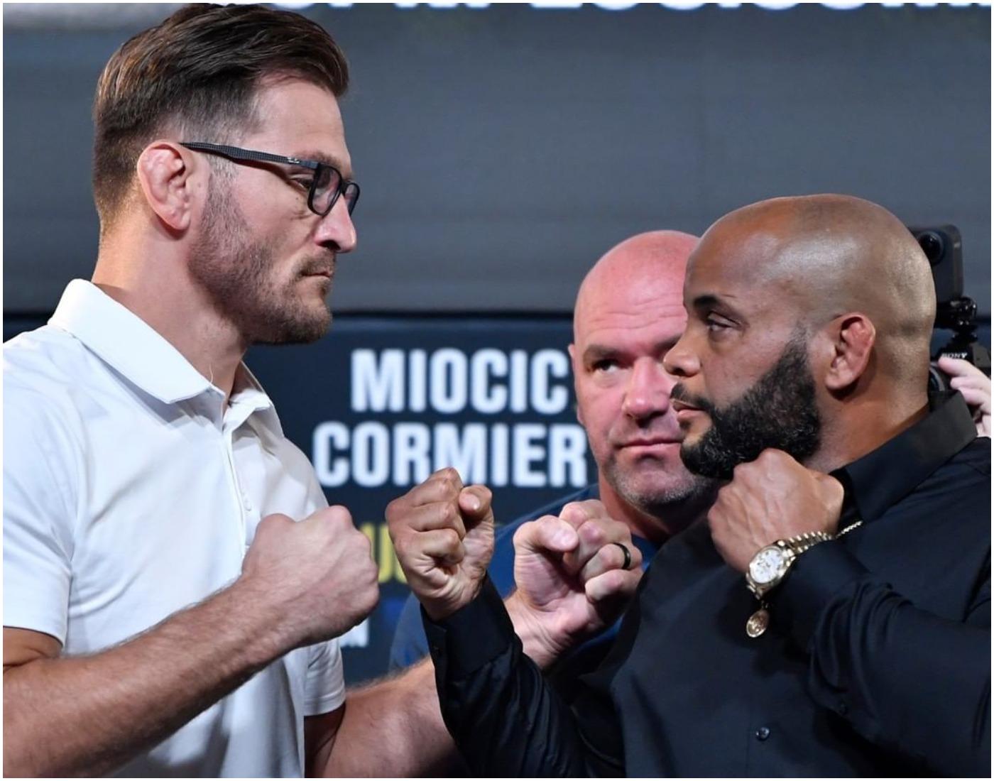 Лице в лице преди UFC 252 (ВИДЕО)