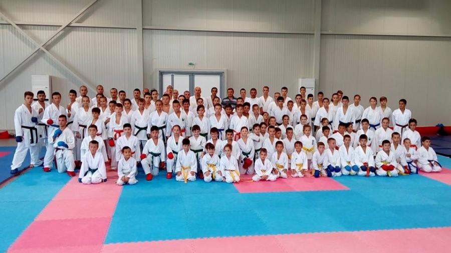 Междунаредон лагер за олимпийското карате в Кранево