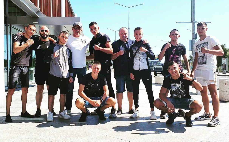 Младежките национали по бокс заминаха за Украйна