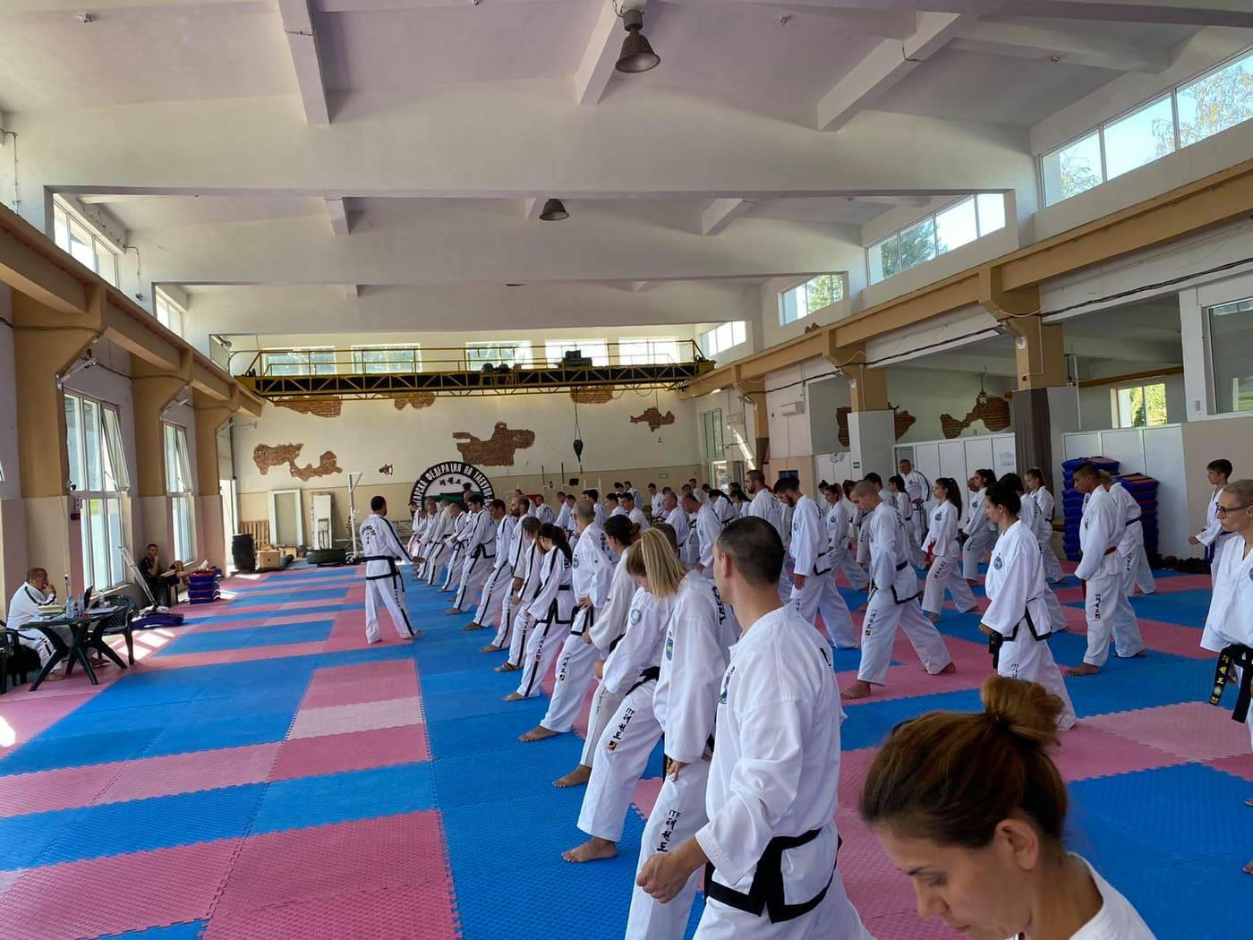 Българска Федерация по Таекуон-До ITF организира втори курс за треньори