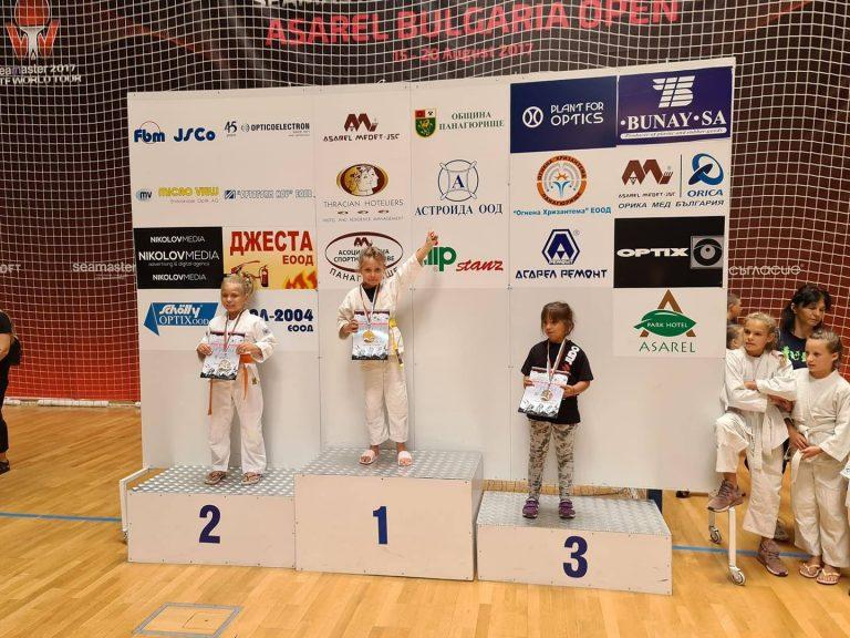 7-годишно българче стана абсолютен шампион по джудо