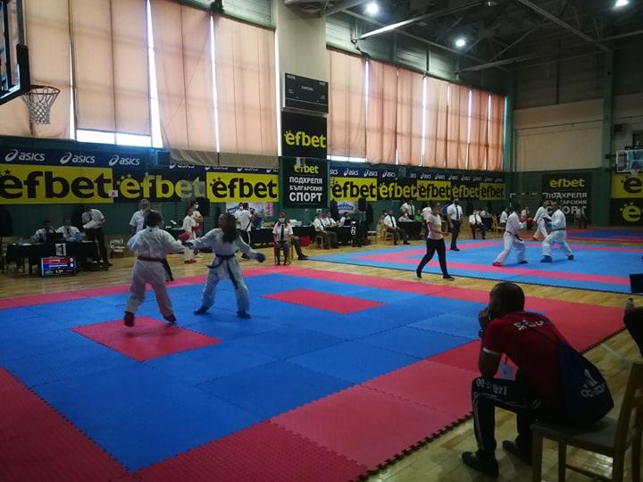Велико Търново посреща Националната купа по карате