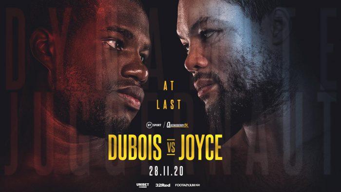 Дюбоа – Джойс в края на ноември