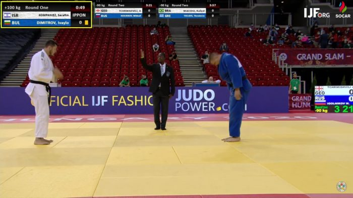 Без медали за България на Големия шлем в Унгария
