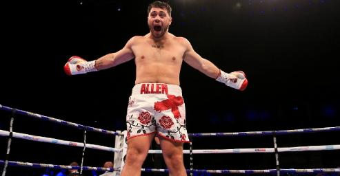 Дейв Алън изненадващо се отказа от бокса