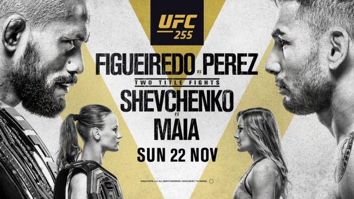 Пълна бойна карта на UFC 255