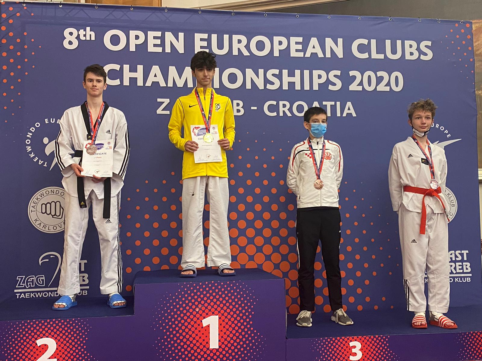 Два сребърни медала за българските таекуондисти в Загреб