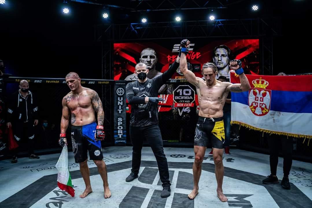 Бивш боец от UFC отне пояса на Владислав Кънчев (СНИМКИ)