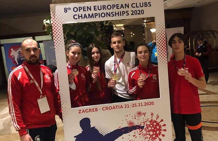 България с две титли и общо 9 медала на Европейското по таекуондо