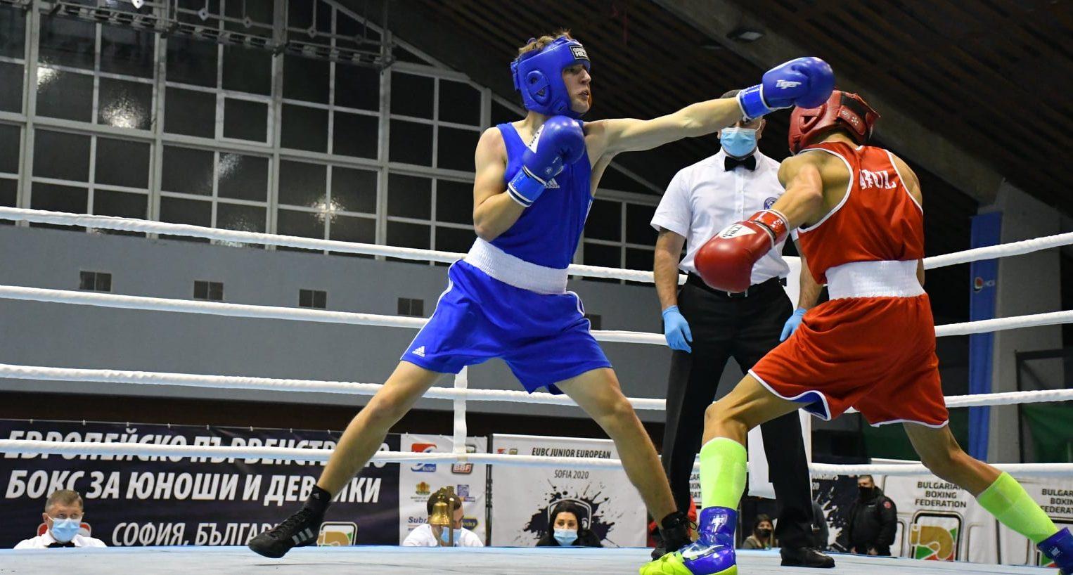 Четирима наши боксьори на ринга в София днес