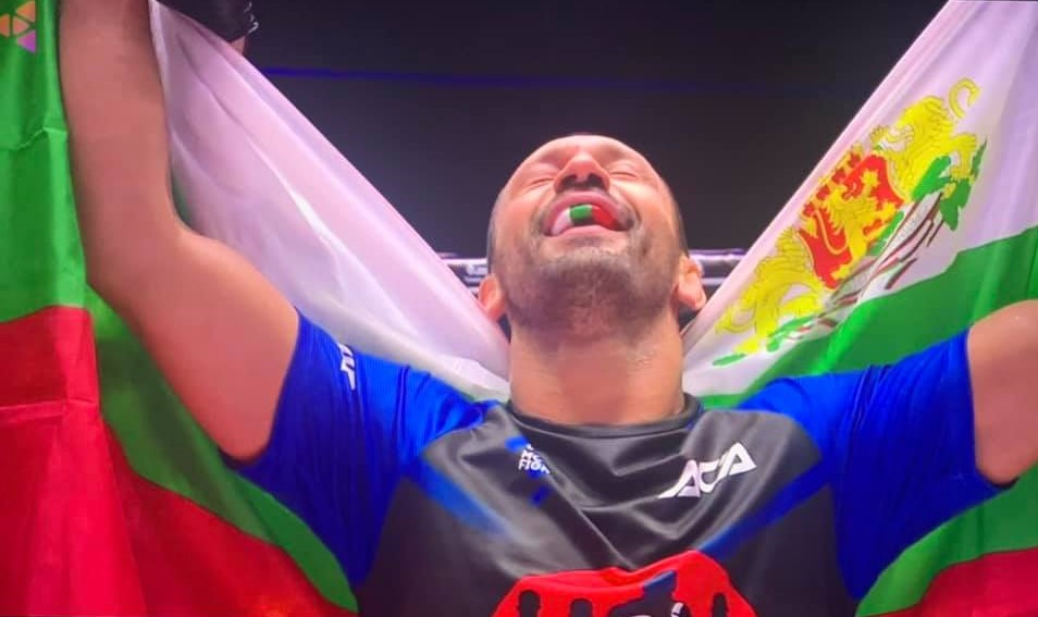 Никола Дипчиков номиниран за най-добър боец на ACA за 2020 година