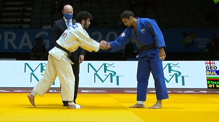 Ивайло Иванов завоюва сребърен медал на Европейското по джудо