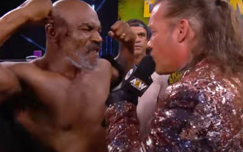 Кеч легенда пожела боксов мач с Майк Тайсън