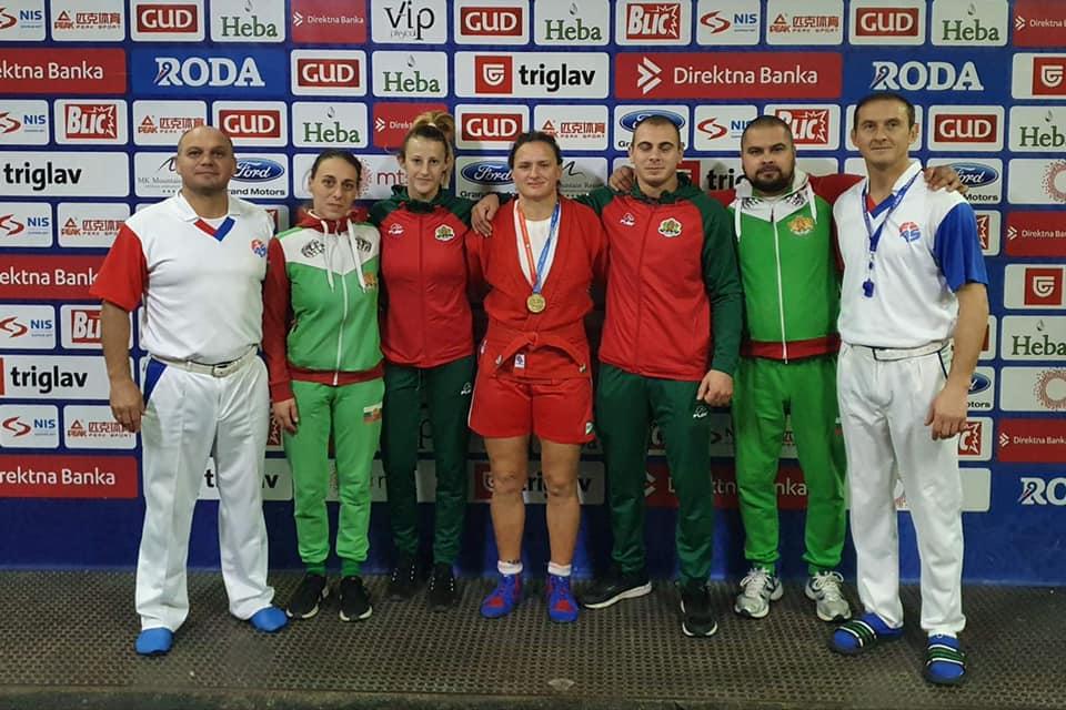 България с 11 медала от Световното първенство по самбо