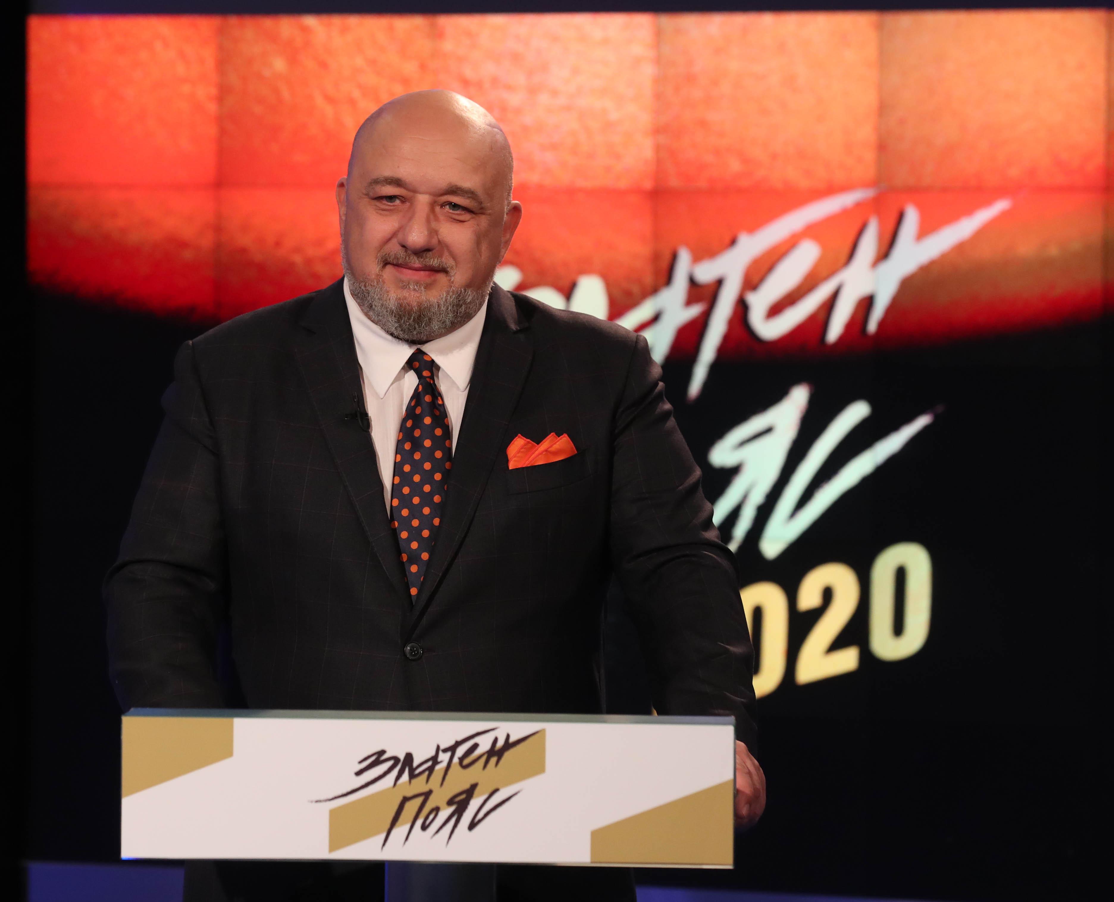 """Красен Кралев на """"Златен пояс 2020"""": Оптимист съм, че скоро ще излезем от тежката пандемия"""